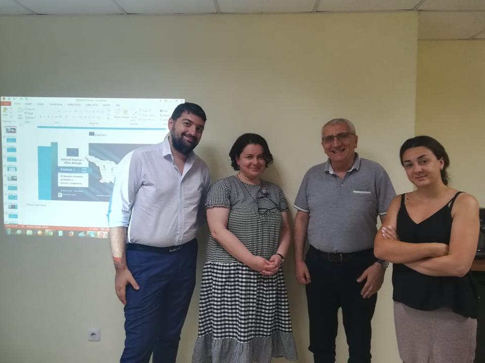 "Meeting with ""Association of Georgian School Administrators"""