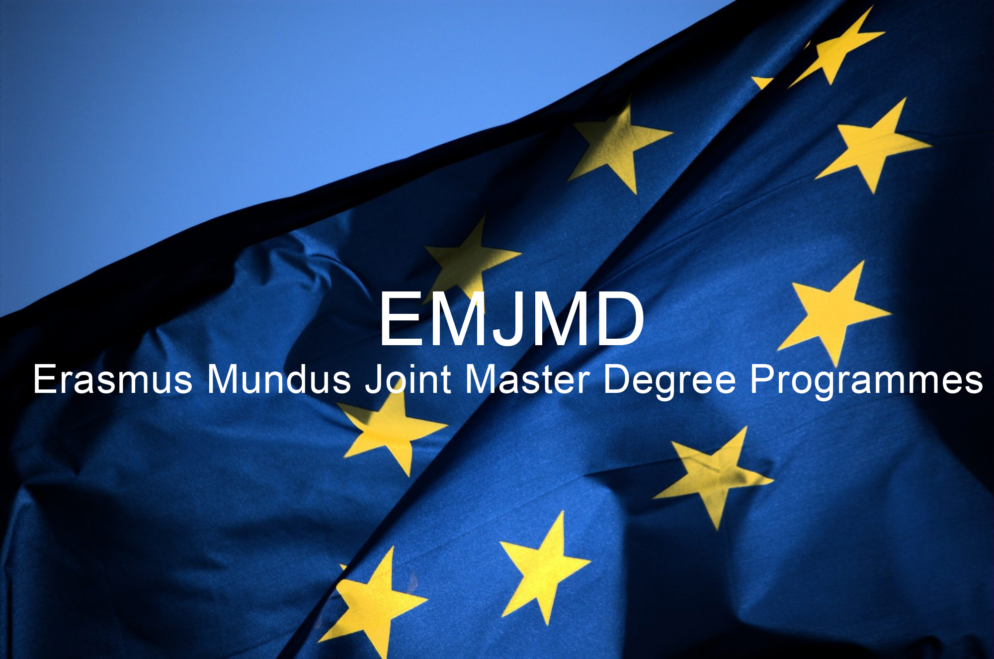 Newly selected JMD programmes