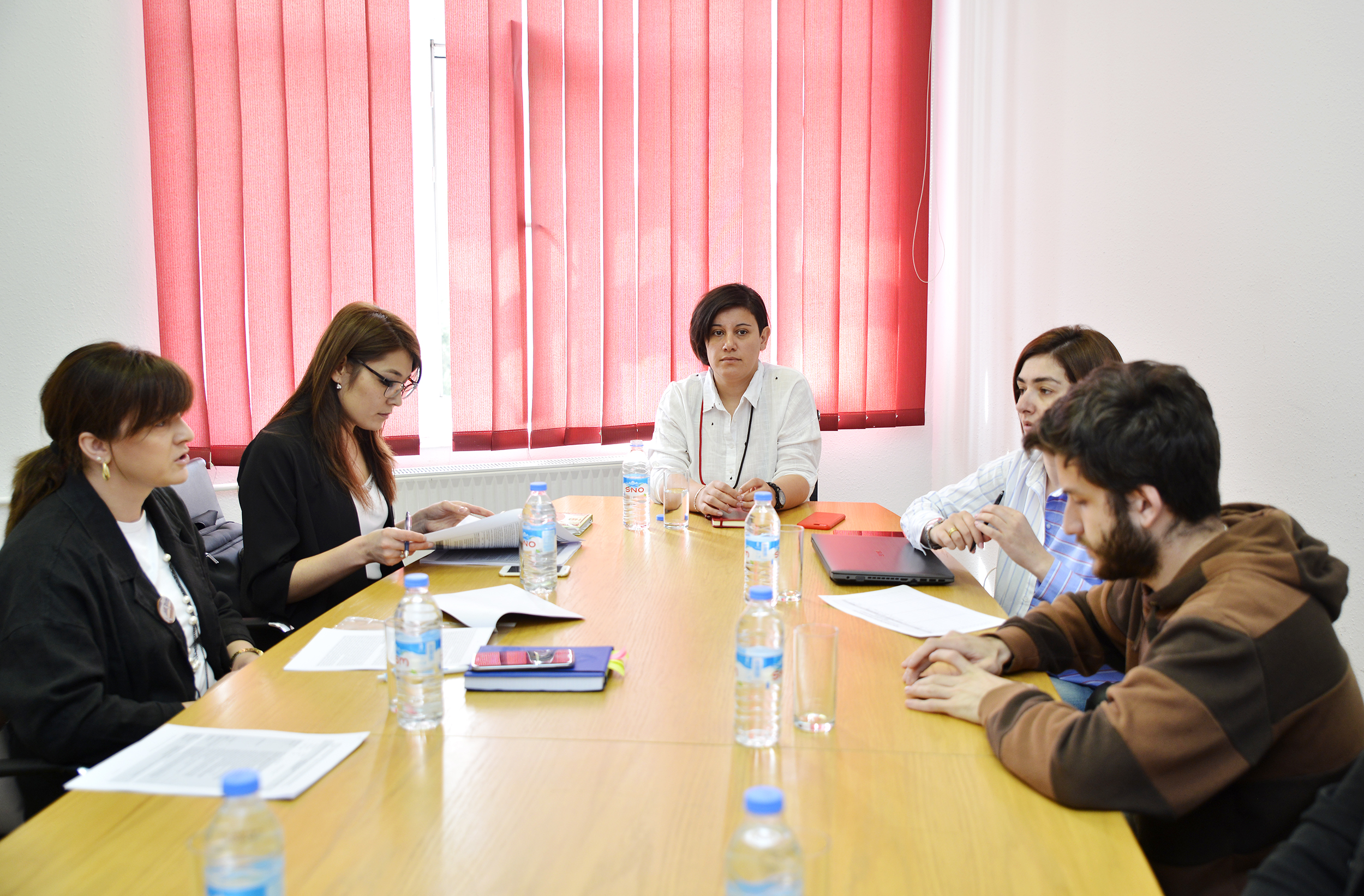 Visit of Kyrgyz colleagues